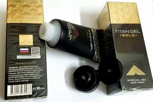 كريم تيتان جيل الروسي الذهبي الاصلي TITAN GEL